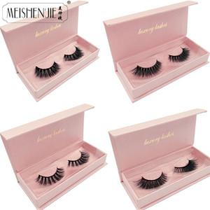 New 3D Mink Lashes Gorgeous box Dramatic Eyelashes Volume Eyelash Extensions Mink Eyelashes Natrual Long False beauty