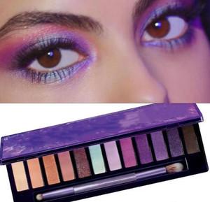 Brand New released UltraViolet eye shadow 12 color eyeshadow palette makeup eyeshadow Shimmer Matte Beauty eye makeup palette DHL free ship