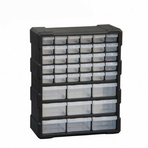 Parts box tool case Multi-grid Drawer type Component toolbox Building blocks Screw Storage Box high quality 6 colors 4kGc#