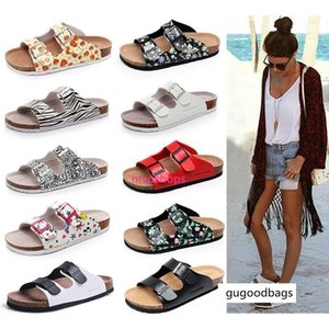 brang 33 color Arizona Hot sell summer Men slipper Women flats sandals Cork slippers unisex casual shoes print mixed colors flip flop