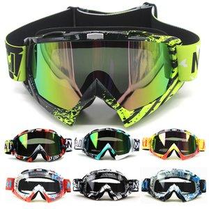 كما يشار في الهواء الطلق للدراجات النارية نظارات ركوب الدراجات MX على الطرق الوعرة تزلج الرياضة ATV الترابية دراجة سباق نظارات لفوكس موتوكروس نظارات جوجل Y200616