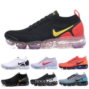 Men Running Shoes Women air fly 2.0 Sneakers Trainers Sports Athletic Hot Corss Hiking Jogging Walking Outdoor Shoes Knit TT-C8