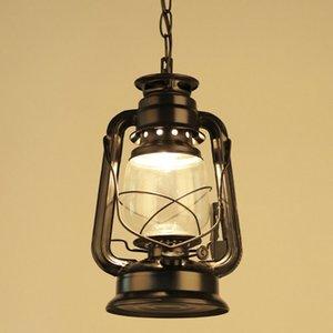 Античный ретро Классический Керосин фонарь подвеска лампа Главная Гостиная Столовая Спальня висячие лампы аварийного PA0310