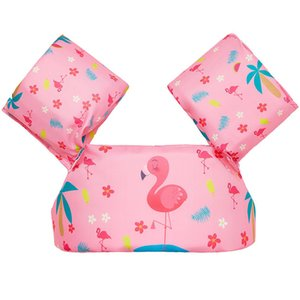 Cartoon Summer Children froth arm rin Flamingo unicorn water wings Swim life vest pool buoyancy vests