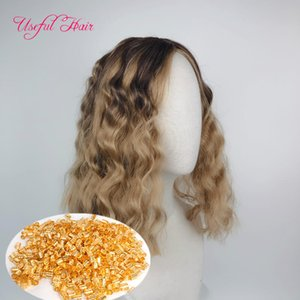 Synthetic Wig Short Wigs Braided Wigs Factory 2020 Weaves Kinky Curly Naturalpre Stretched Braiding Ombre Brown Wigs for White Women Black