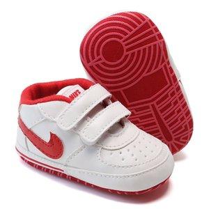 Yenidoğan Bebek Kız Erkek Yumuşak Sole Ayakkabı Bebek Sneaker Ayakkabı Casual Prewalker Bebek Klasik İlk Walker Anti-skid