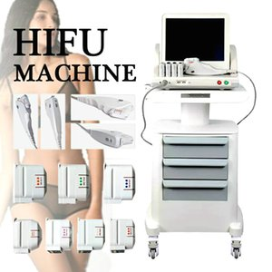 Hot Selling 2D Hifu Machine For Skin Tightening And Wrinkle Removal One Shot With 3 Cartridges Hifu Body Slimming
