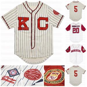 Big Boy Kansas City пользовательских NLBM Negro Лига Бейсбол Джерси Stiched Имя Stiched Номер Быстрая доставка Высокое качество