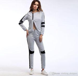 fashion casual suit sweatshirt 2019 new long-sleeved women's hoodie fashion casual sportswear yoga clothing sports suit
