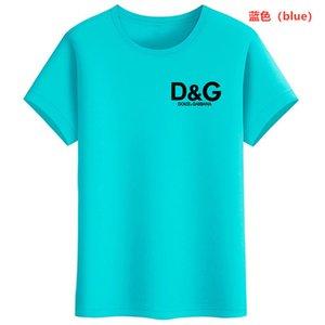 한국 전기 드 라 VIE adlv 브랜드 디자이너 최고 품질의 남성과 여성의 t 셔츠 패션 인쇄 t 셔츠 짧은 소매 사이즈 S-XXXL