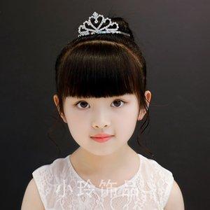 lg93q Kore tarzı Saç bandı Yapay elmas kristal zarif parlak elmas taklidi Crown Princess Kristal çocuk saç aksesuarları Childre hairband
