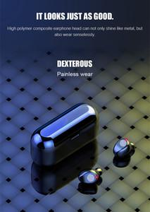 F9 TWS 10PCS BT V5.0 Wirelesss عالمي السماعة مع شاشة LED الرقمية بطارية 2000mAh شحن صندوق المحمولة الرياضة سماعات لبرو 11 فون
