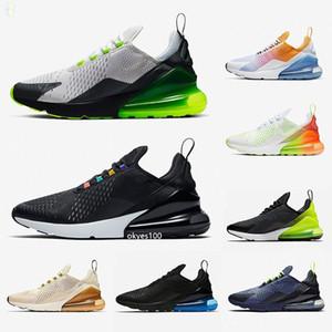 2020 Cojín Cojín Deportes Zapatillas deportivas Zapatillas para hombre CNY Rainbow Heel Trainer Road Star Iron Mujer Sneakers Tamaño 36-45