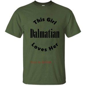Printed Dalmatian T-Shirt Männer-T-Shirt T-Shirt-Kleidung-Rundhalsausschnitt Fitness Homme Plus Size 2019 Hip Hop Coton