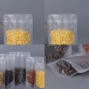 Пластиковые мешки Прозрачный Запах Proof мешок Упаковка продуктов хранения Организаторы Strip Seal Многоразовые Конфеты сахарами 0 56yl C2