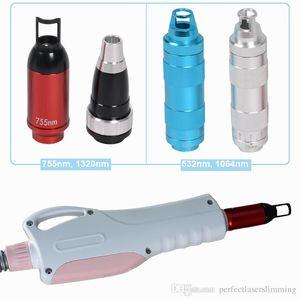 lazer Picosure kolu 4 sondalar kaliteli ipuçları ile 755nm 1064nm 532nm 1320nm dövme silme pikosaniyelik lazer kolları