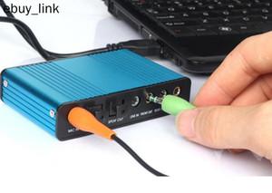 USB Sound Card 5.1 / 7.1 Surround Weale Sound Card 6 Channel PC Ноутбук Настольный планшетный Аудио Оптическая Адаптерная карта