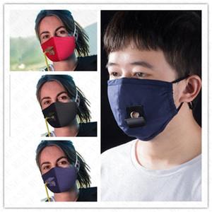 Femmes Hommes Masque Tissu Coton Nouveau design Solide Couleur réglable Masque de paille anti-poussière adulte Masque Couverture Sports de plein air Casual Masques D71512