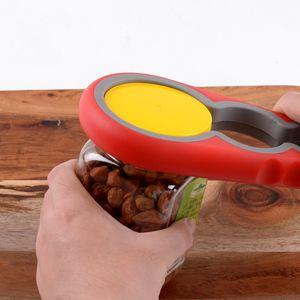 Wholesale Jar Bottle Cover Gourd-shaped 4 in 1 Multi-function Opener Kitchen Tool Lid Jar Opener Kitchen Gadget Jar Gripper