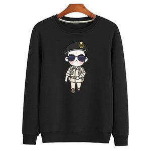 2020 Men's O-Neck Pullover Sweatshirt males Clothes Fashion Casual Hoodies Lovers Printing High Street Sweater Hoodies,WY010