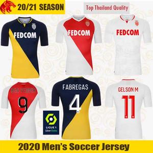 20 21 AS Monaco Maillots de football GELSON.M 2020 2021 FABREGAS Monaco GOLOVIN BEN YEDDER Maillot de foot HENRY Maillot de Foot