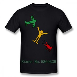 Keith Haring maglietta Keith Haring T-shirt in cotone Mens Tee Shirt 100 Percent Streetwear 100% divertente Big maglietta stampata