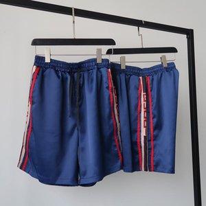 xshfbcl short pants classic trousers comfortable high quality Stitching sides perfect side plaid Ribbon stitching pants