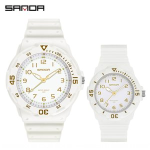 haE0a Sunda new wristwatch couple style hipster fashion fashion outdoor leisure temperament all-match male and female middle school wristwat