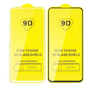 9D Cobertura completa Vidro temperado Para Xiaomi redmi Nota 9 9S 9Pro Max 8 Protetor de Tela Para Film redmi 9 9A 9C NFC X10 Lite 5G 8 8A K30 30i Pro