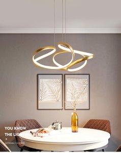 Кофе золото Современный светодиодный свет подвеска для Гостиная Спальня Столовая Цветок акриловый Подвесной светильник двери Освещение кухни подвеска