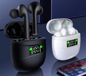 توس جديدة سماعة بلوتوث 5.0 في الأذن شاشة LED الرياضة لاسلكية سماعة سماعة عالمية مع مربع للبيع بالتجزئة