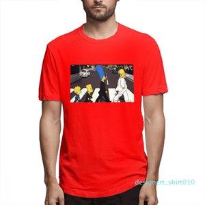 Cotton Os Simpsons desenhador de moda camisas camisas das mulheres dos homens de manga curta Camisa O c3510d10 Simpsons Impresso camisetas Causal
