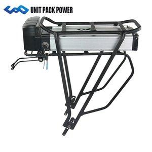 UPP 36V posteriore Rack Ebike Batteria 10Ah litio bicicletta elettrica a doppio strato per 500W BBS02 350W 250W BBS01