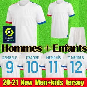MEN + KIDS 2021 2020 Barcelona Soccer Jersey Футбол Джерси Барселона Camisetas de Fútbol 19 20 Barca Messi DE JONG GRIEZMANN Комплекты футбольного свитера Ракитич Униформа Униформа