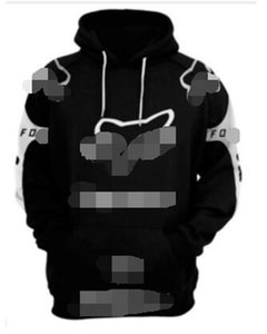 FOX 2020 trendy fleece warm sweater men and women motorcycle outdoor riding racing suit sweater jacket downhill jersey