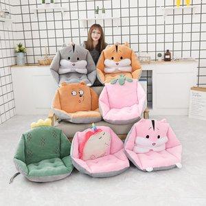 60*40*40cm Indoor Plush Sofa PP Cotton Stuffed Chair Floor Seat Cushion Unicorn Strawberry Hamsters for Grownups Children