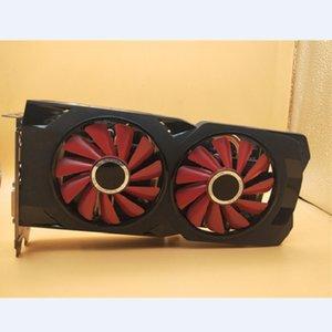 XFX verwendet RX 570 4GB 256bit GDDR5-Desktop-PC-Gaming-Grafikkarten Grafikkarte nicht Bergbau, RX 4G