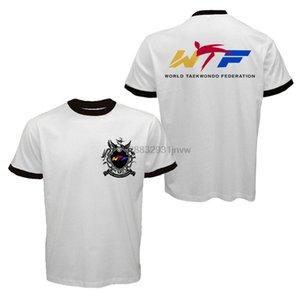 Nuovo mondo di WTF Taekwondo Federation campionati della squadra arti marziali coreane T-shirt nuova marca di modo