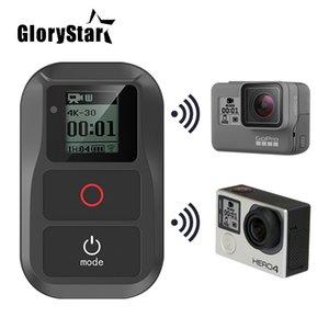 Glorystar uydu Yeni Suya WIFI Uzaktan Kumanda İçin GoPro Hero 6 Kahraman 5 4 3+ 4/3 5. Oturum Oturum Kamera