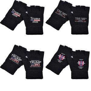Luvas Trump 2020 Luvas de manter a América Grande impressos Trump nós eleição presidencial Supplies malha DHL frete grátis