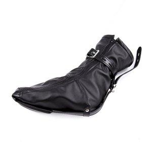 BDSM Çorap Kısıtlama Fetiş Deri Yastıklı Boot Patik Kölelik Yumuşak Kadın Ayaklar Ayak Bileği PU Manşetleri SM Legcuffs Y200616 WBIHE