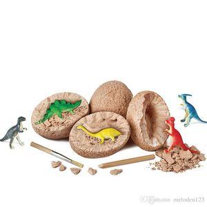 Jurassic World Simulation Dinosaur Egg Archaeological Excavation Puzzle Toy Tyrannosaurus Rex Children's Dinosaur Toy Decoration