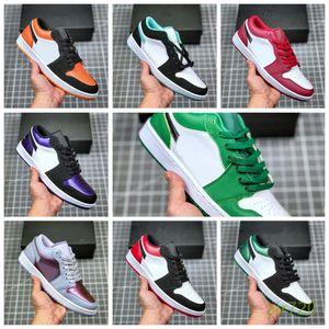 Nike Air Jordan 1 Low AJ1 AJ 1 1s 2020 Jumpman 1 1s Haut OG Travis Scotts Royal Game UNC Basketball Chaussures Hommes Shattered Backboard 3.0 baskets sport concepteur 36-45