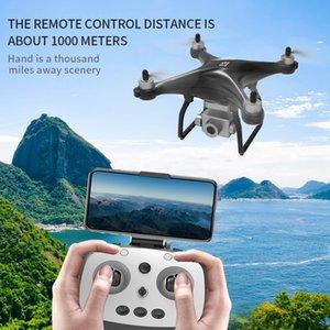 드론 Profissional 4K 와이파이 FPV HD 카메라 홀드 높이 비행 RC Dron GPS 쿼드 콥터 브러시 모터 드론 짐벌 안정을 유지