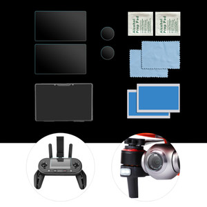Compatible with Autel EVO II 8K RC Drone Camera Lens Protector Remote Controller Screen Protector 9H High Hardness Tempered Glass 2 Sets