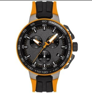 MENS T111.417.37.441.04 T-RACE CYCLING ORANGE & BLACK CHRONOGRAPH WATCH