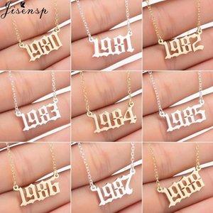 Englisch Anzahl Halsketten-Anhänger Amuletten Jahr 1980 1987 1999 Mädchen-Geburtstags-Geschenk