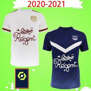 20 21 قمصان جيروندان دي بوردو لكرة القدم 2020 2021 مايوه دي فوت برياند S.KALU KAMANO BENITO DE Oudin قميص رجالي أساسي لكرة القدم