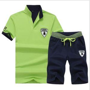 Men's Sets T Shirts+2020 pants Two Pieces Sets Casual Tracksuit Men New Fashion printing suits sportwear Gyms trousers Plus Size S-4XL