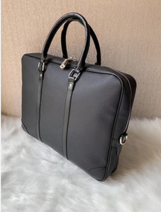 New Genuine Leather Bags Crossbody Messenger Bag Leather Office Bags for Men Document Briefcase Travel Bags